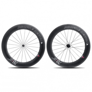 Twenty Four Full carbon clincher set - 58+78mm